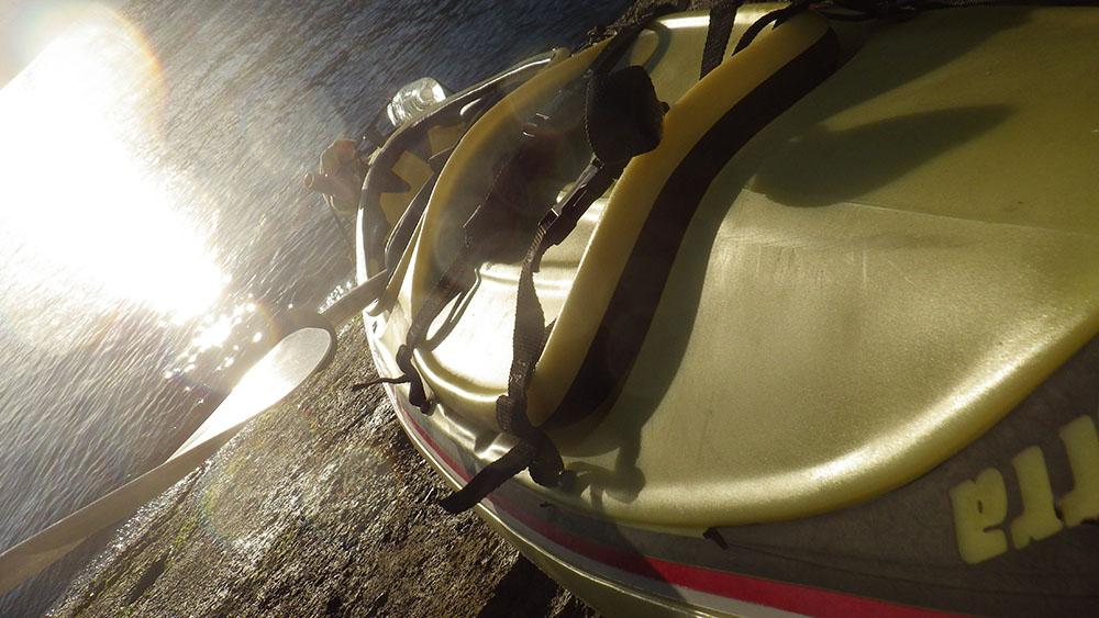 Kayak training in Shunan Japan