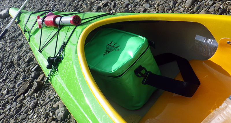 Frost Pack Cooler in Kayak_2