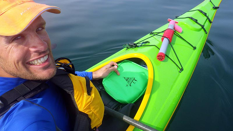 Frost Pack Cooler in Kayak